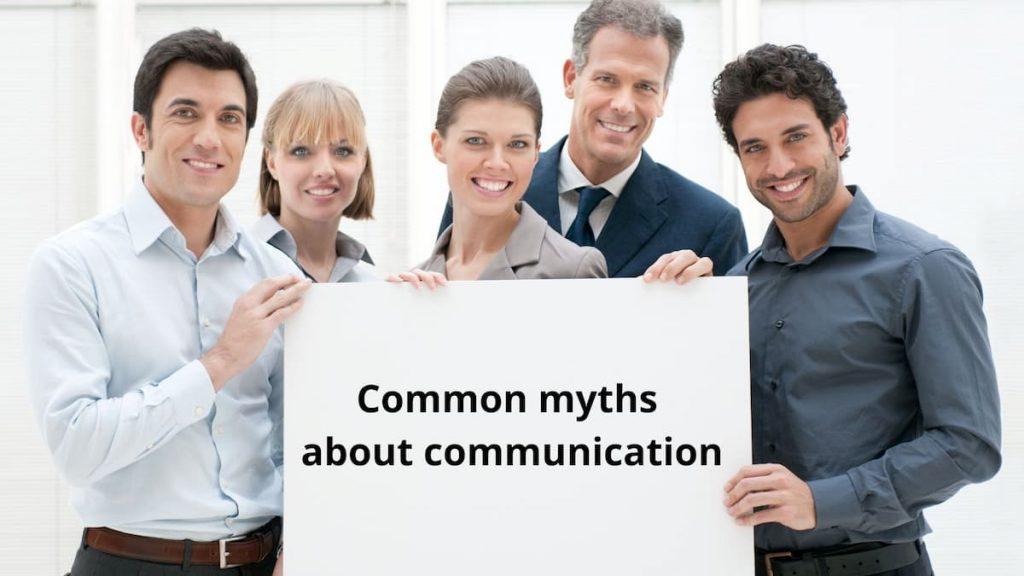 communication myths